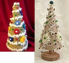 Елку из джута, шпагата своими руками на Новый год как сделать, украсить? Christmas Tree Ornaments, Christmas Decorations, Kegel, Winter Snow, Christmas Projects, Gnomes, Gingerbread, Holiday, Holiday Decorating