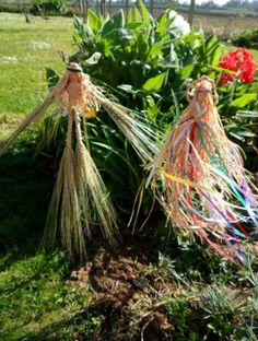 Beltane garden fertility God and goddess. handmade to order by positivelypagan.com (positivelypagan on Etsy)