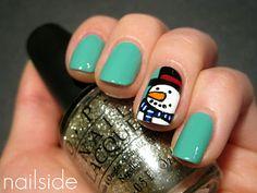 Nailside: Sweet Snowman