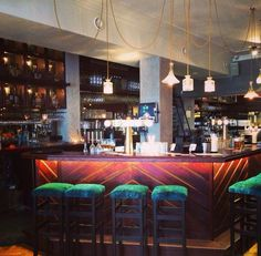 Cool and carefully styled, The Walter Woodbury #Bar brings a taste of Java to #Javastraat in #Amsterdam Oost east.
