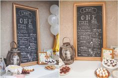 The awesome chalkboard backdrop is such a popular trend right now, | This Whimsical Birthday Party Is Perfect For Your Little Girl | POPSUGAR Moms Photo 7