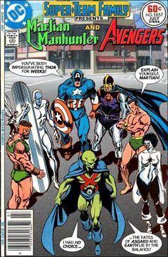 #dc #dccomics #marvel #marvelcomics #superteamfamily  #comicbooks #covers #superheroes #comicwhisperer #comiccovers #martianmanhunter #avengers