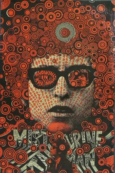 Martin Ritchie Sharp: Blowing in the Mind Mister Tambourine Man, 1967,