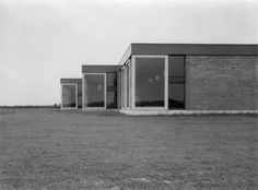Lagere Scholen (1954-57) in Nagele, the Netherlands, by Aldo van Eyck
