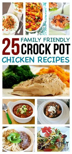 CROCK POT CHICKEN RE