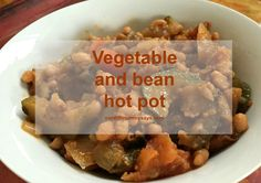 This week we're eating… vegetable and bean hot pot - Cardiff Mummy Says Clean Eating Vegetarian, Vegan Clean, Vegetarian Recipes, Moroccan Vegetables, Eating Vegetables, Hot Pot, Cardiff, Family Meals, Recipe Ideas