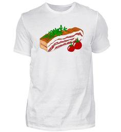 Speck mit Tomaten T-Shirt Basic Shirts, Mens Tops, Fashion, Tomatoes, Moda, Fashion Styles, Fasion