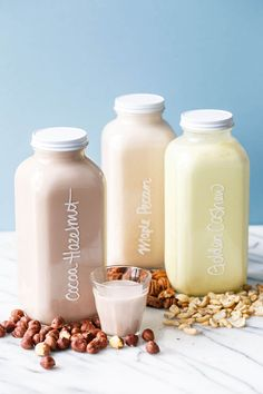 Homemade Nut Milks w