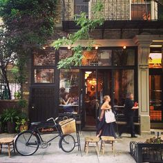 Reform Kitchen / New York guide / NY / NYC / Inspiration / Buvette, 42 Grove street. Sometimes crowded but awesome Greenwich Village, A New York Minute, Groves Street, Voyage New York, Nyc Restaurants, French Restaurants, Coffee Shops, West Village, Concrete Jungle