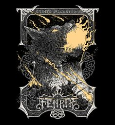 """Check out this @Behance project: """"Norse Mythology"""" https://www.behance.net/gallery/53872325/Norse-Mythology"""