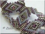 Pattern bijoux: Zuzzl's Serpentine