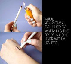 22 Genius Eyeliner Hacks Every Woman Needs to Know - Ways To Use Eyeliner - Elle