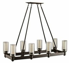 Olde Bronze Large Circolo Contemporary Chandelier - #EU80580 - Euro Style Lighting