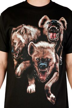 the hundreds hyena t-shirt