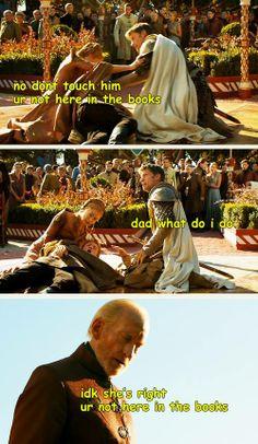 Jaime go away.