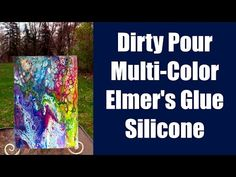 3 Color Dirty Pour. Mixing Ratios Explained. Fluid Painting Basics, Paint Pouring - YouTube