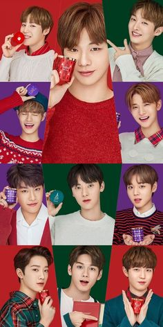 WannaOne Saranghae💙😙 My One And Only, 3 In One, Ong Seung Woo, My Destiny, Kim Jaehwan, Ha Sungwoon, Love Me Forever, My Youth, K Idol