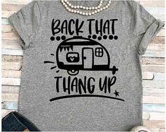 90s Shirts, Vinyl Shirts, Cool Shirts, Camping Humor, Camping Theme, Camping Stuff, Rv Camping, Campers, Camper Life