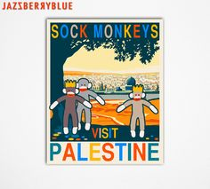 A wonderful Poster Style Print by JazzberryBlue via Etsy