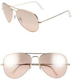 Ray-Ban  Large Original Aviator  62mm Sunglasses 1287d64f0ff8