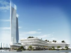 The project is part of the new Central Recreation Centre in Huizhou, located at…