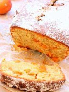 Cake aux abricots fondants de Marcia
