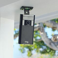 This easy-to-install security camera allows you to observe and communicate with whoever is at your door. It sends alerts to your phone when it detects motion and has infrared night vision so you can see in the dark. Best of all? There's no wiring; it operates up to a year on a rechargeable battery. Or you can plug it into a dedicated solar panel ($49) and forget all about recharging. $199; Ring
