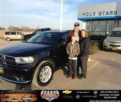 Thank you to Dwayne & Debra Haehn on your new car from Dewayne Aylor and everyone at Four Stars Auto Ranch! #NewCar