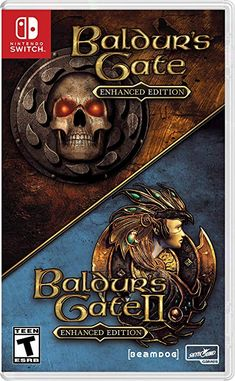 Amazon Com Baldur S Gate Enhanced Edition Nintendo Switch