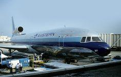 Lockheed Tristar: 1038 N317EA Eastern Air Lines Atlanta Hartsfield Airport |