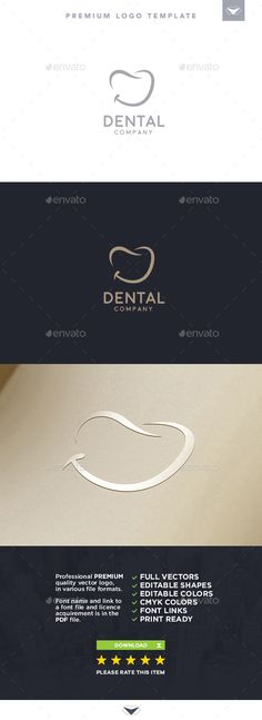 Dental Logo beautiful, classy, clean, dental, dentistry, doctor, gums, happy, health, hospital, logo, luxurious, medical, modern, mouth, natural, oral, oral hygiene, pearly, practice, smile, smiling, sophisticated, style, stylish, teeth, tooth, white
