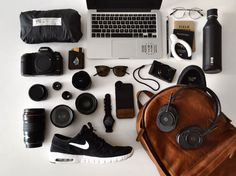 What photographer Cubby Graham packs in his ONA Clifton backpack. Premium camera bags and accessories, handcrafted from the finest materials.