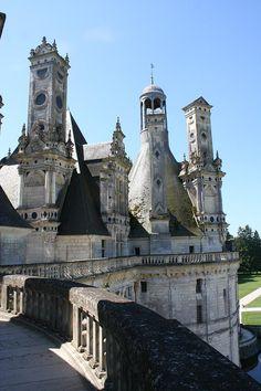 Chimneys - Chateau Chambord, France