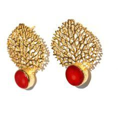 Coral Reefs Earrings by toosis