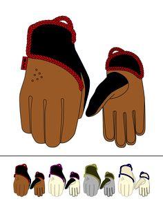 Womens Winter Snowboard Gloves. Bula 2011
