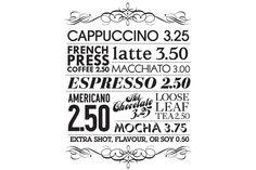 Coffee Shop Type