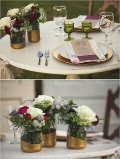 rustic wedding ideas by Natalie Loupe
