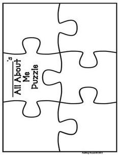 Back to School All About Me Puzzle {FREEBIE!}. Send before open house or give it out there for kids to return on the first day of school.