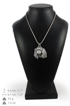 NEW Bullterrier dog necklace silver cord 925 by ArtDogshopcenter Dog Necklace, Silver Chain Necklace, Silver Necklaces, Staffordshire Bull Terrier, Bull Terrier Dog, Cairn Terrier, American Staffordshire, Norfolk Terrier, Bichon Dog