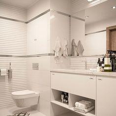 Санузел #интерьер #дизайн #ванная #плитка #раковина #3d #interiordesign #design #bathroom Decor, Interior Design Living Room, Bathroom Vanity, Bedroom Inspirations, Interior Design Trends, Bathroom Decor, Grey Kitchens, Bathroom Design, Bathroom