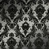 "Found it at AllModern - Damsel Temporary 33' x 20.5"" Damask Wallpaper"