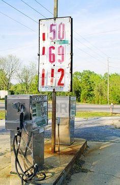 Regular gas less 50 cents per gallon