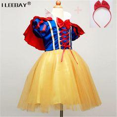 Children Cosplay Dress Snow White Girl Princess Dress Halloween Party  Costume Children Clothing Sets Kids Clothes Girls Dresses 963afa908b5c