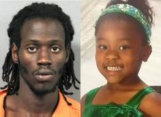 """This happened in New Orleans and it's probably the most disgusting domestic news story of the year, so why isn't this a national news story? The scumbag in this photo claims he killed this 6-year-old girl after he raped her because she """"seduced"""" him."""
