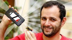 Aposto que você não vive sem seu celular, né?! E se amanhã houver um apagão na sua casa, como vai fazer pra