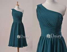 Peacock Teal Bridesmaid Dress,Vintage Emerald Blue Short Bridesmaid Dress,Teal Cocktail Party Dress,Peacock Blue Evening Dress(BM032230)