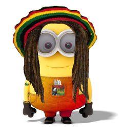 Bob Marley Rasta Minion