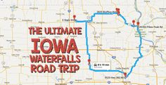 See Iowa in a way that you have never seen it before with this fun waterfalls road trip!