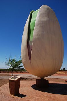 World's Largest Pistachio    On the way to White Sands, in between Tularosa and Alamagordo.