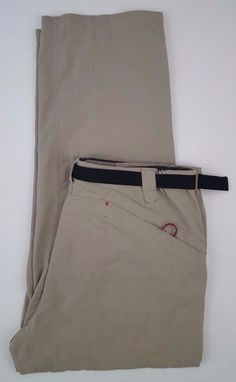 498cfeaf93 ORVIS Trout BUM Pants MENS Large BEIGE Size SZ Fishing CAMPING Outdoor  NYLON Man #Orvis